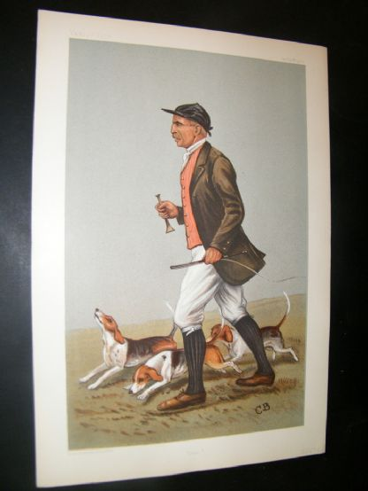 Vanity Fair Print 1902 John Otho Paget, Fox Hunting | Albion Prints